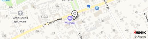 PrestigeKMV на карте Ессентукской