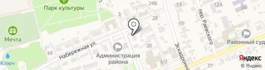 Бухгалтер-Консультант на карте Ессентукской