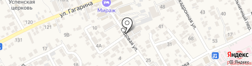 Мини-маркет на карте Ессентукской