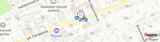 Перекур на карте Ессентукской