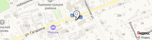 Ермолинские полуфабрикаты на карте Ессентукской
