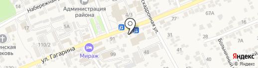 Московские конфеты на карте Ессентукской
