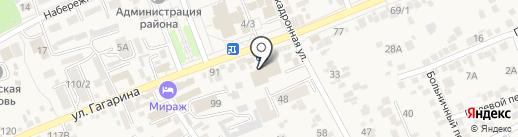 Магазин мебели на карте Ессентукской