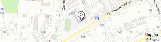 Средняя общеобразовательная школа №7 на карте Ессентуков