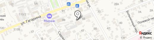 Строящиеся объекты на карте Ессентукской