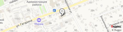 Мебель на карте Ессентукской