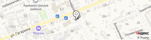 Оптика на карте Ессентукской