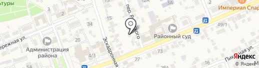Отдел по делам несовершеннолетних и участковых уполномоченных по Предгорному району на карте Ессентукской