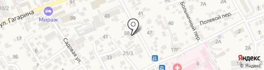 Валентина на карте Ессентукской