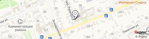 СтройИнвест на карте Ессентукской