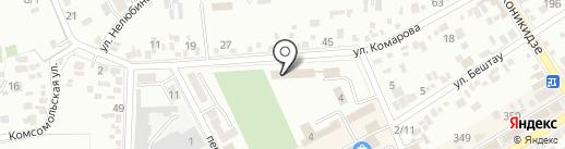 Детский дом №35 для детей-сирот и детей оставшихся без попечения родителей на карте Ессентуков
