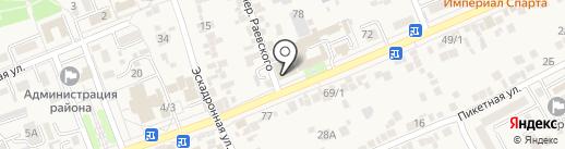 Vobraze на карте Ессентукской