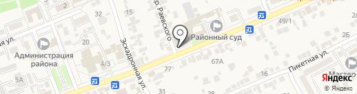 Проект на карте Ессентукской