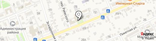 Отдел ГИБДД на карте Ессентукской