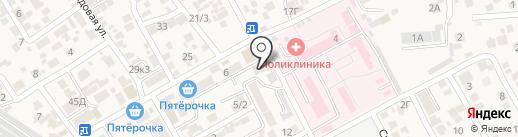 Александр на карте Ессентукской