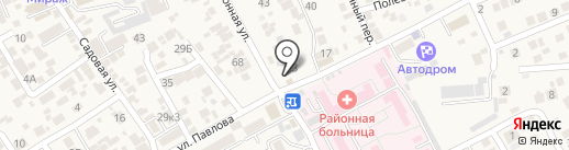 Ритуал КМВ на карте Ессентукской