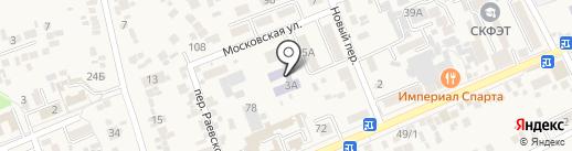 Детский сад №6, Ручеек на карте Ессентукской