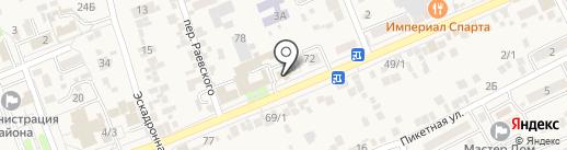 Предгорный районный суд на карте Ессентукской