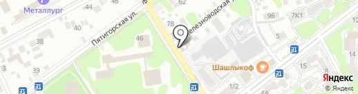 Автомастерская на карте Ессентуков
