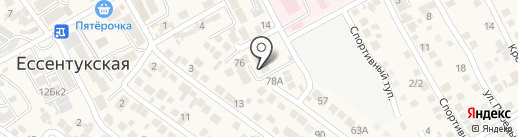 Центр гигиены и эпидемиологии на карте Ессентукской