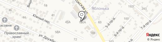 Пожарная часть №54 на карте Ессентукской