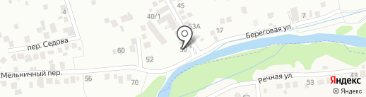 Медалана на карте Ессентуков
