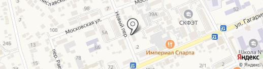 Винтаж на карте Ессентукской