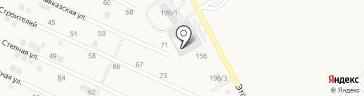Титан Люкс на карте Ессентукской