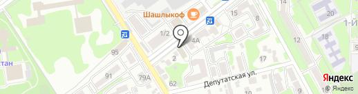 Следственный отдел по г. Ессентуки на карте Ессентуков