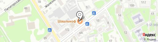 Шашлыкоff на карте Ессентуков