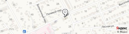 Отдел Военного комиссариата по Предгорному району на карте Ессентукской