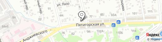 Фонд социального страхования РФ на карте Ессентуков