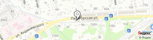 Дент-Ас на карте Ессентуков