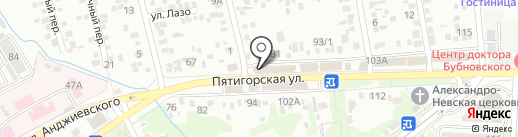 APART`S на карте Ессентуков