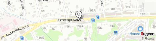 Жар Пицца на карте Ессентуков