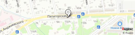 Любимый дом на карте Ессентуков