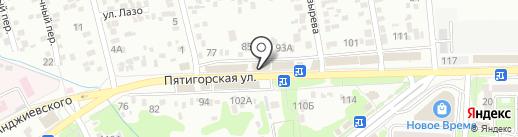 Аграба на карте Ессентуков
