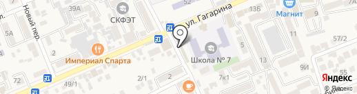 Ателье по ремонту и пошиву одежды на карте Ессентукской