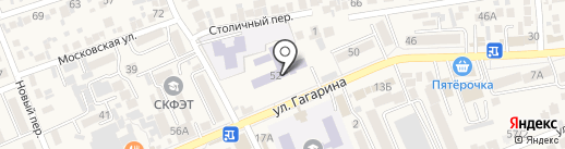 Координационный совет организаций профсоюзов предгорного Муниципального района на карте Ессентукской