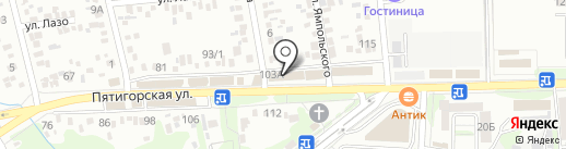 Beer House на карте Ессентуков
