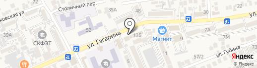 Овощной магазин на карте Ессентукской