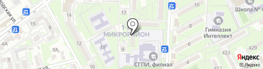 Ателье на ул. Долина Роз на карте Ессентуков
