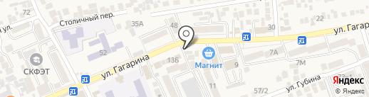 Русский на карте Ессентукской