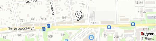 Комфорт на карте Ессентуков