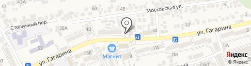 Мясо у Алексея на карте Ессентукской