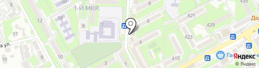 Бретелька на карте Ессентуков