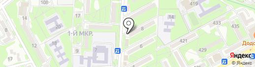 Белорусская косметика на карте Ессентуков