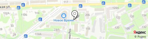 Александра на карте Ессентуков