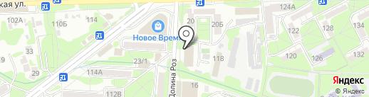 Отдел надзорной деятельности по г. Ессентуки Главного Управления МЧС России по Ставропольскому краю на карте Ессентуков