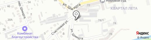 Управление механизации на карте Ессентуков